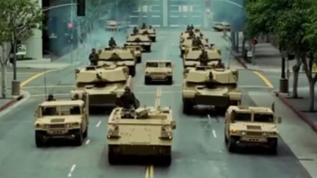 远古怪兽军团袭击城市,军队直接出动坦克,怪兽军团的导弹厉害了
