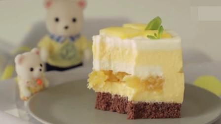「烘焙教程」蛋糕怎么做能不腻得慌?教你做菠萝芝士蛋糕