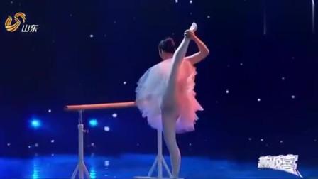 """她柔若无骨,有""""中国第一美女蛇""""称号,奇妙芭蕾舞震撼全场!"""