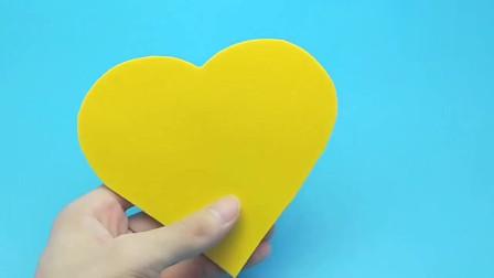 教师节立体贺卡制作,DIY高大上的闪光迷你卡片,老师看了连连夸