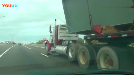 这是我见过最长的半挂车,技术不过关的司机都不敢开!