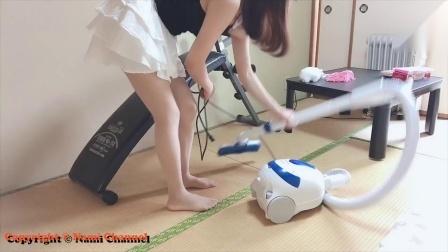 每天用吸尘器打扫房间