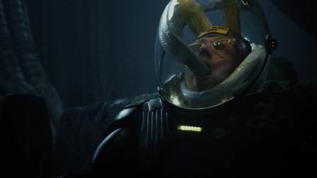 普罗米修斯:两男子挑逗外星生物,结果却被外星生物给团灭