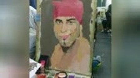 那个象征着自由的男人会来吗?美术高中生模仿香蕉君舞蹈!画画也是香蕉君!