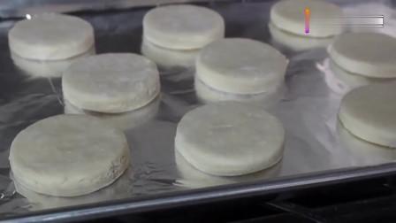 美食达人制作的薄脆奶油饼干, 这个颜色超赞, 好想来一块