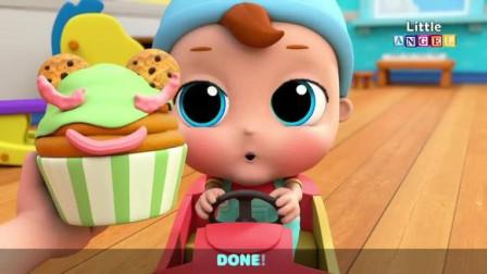 宝宝小厨师做纸杯蛋糕 早教英语儿歌