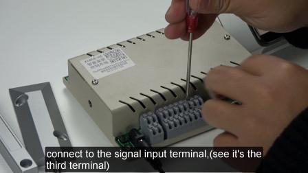 有线门磁传感器实现触发报警及app消息推送