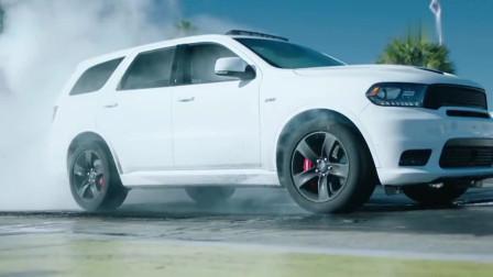 价值60万道奇汽车,进入热胎模式那一刻,才知道为什么叫肌肉车