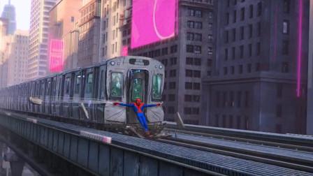 蜘蛛侠平行宇宙:能力越大,责任就越大!