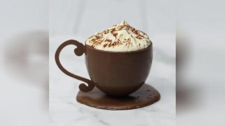 烘焙教学:教你制作好吃又好看的摩卡巧克力奶油杯!