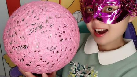 DIY手工创意气球巧克力,薄脆香甜,草莓味的超好吃
