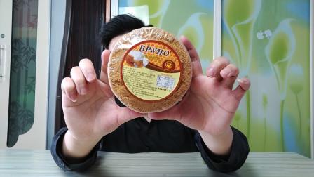 """试吃俄罗斯""""提拉米苏"""",进口的奶油,吃出不一样的感觉"""