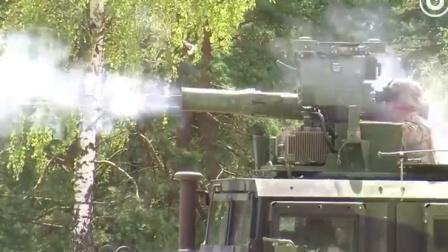 美国第173空降旅进行TOW反坦克导弹射击训练,这准确度可以