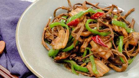 来个好吃又营养的干锅茶树菇