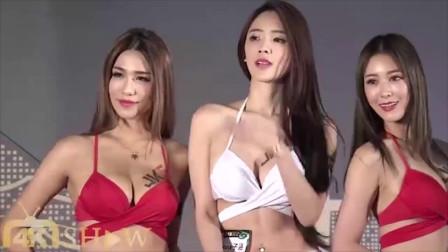 F-class台湾世界小姐泳装秀,满屏的长腿模特,看不过来了!