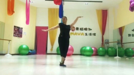 舞蹈《梦中的额吉》个人练习 荷池幽香