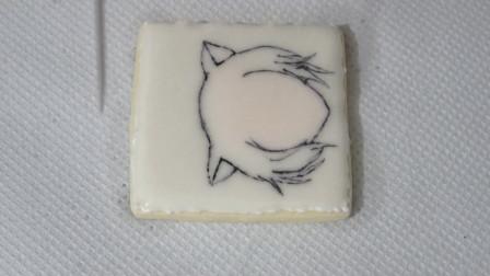 在糖霜饼干上画《元气少女结缘神》的人物,这个人是谁就不说了