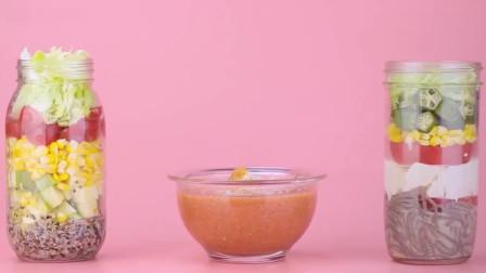 三种夏日网红沙拉的做法,一分40秒教你