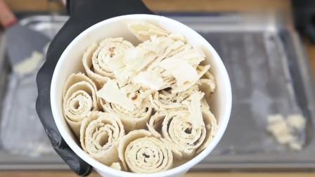 泰式手工冰淇淋卷, 可乐炒冰淇淋