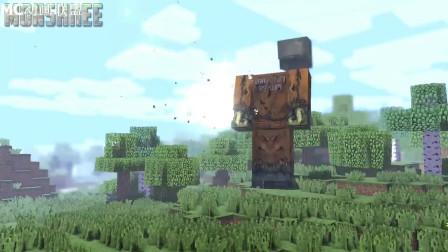 我的世界动画-怪物学院-巨型丧尸来挑战-Monshiiee
