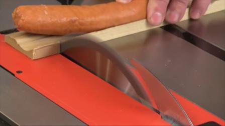 美国发明世界上最安全的电锯,手指靠近自动停止,反应仅5毫秒