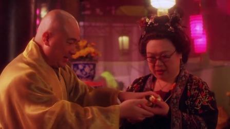 杜十娘出场,连和尚都扛不住,直接掏出一把金子:今晚轮到我了吧