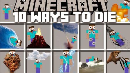 大海解说 我的世界 搞笑作死的10种方法