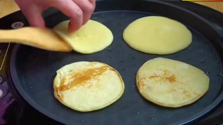 牛奶小饼的做法,又松又软,不仅美味营养还健康!