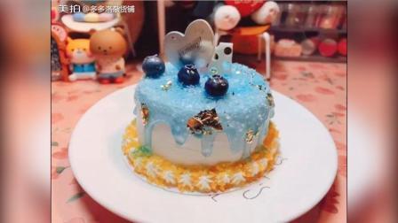 海盐蓝莓冰淇淋蛋糕 —— 新品来袭制作: