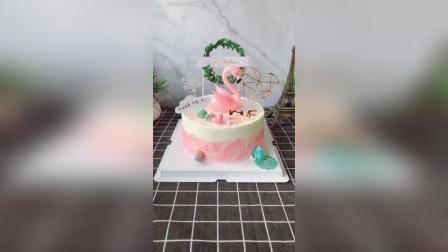 火烈鸟象征爱情的忠贞不渝, 老公送老婆的生日蛋糕