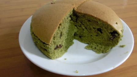 抹茶红豆蛋糕 好吃又简单的美食