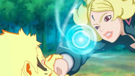 火影忍者——博人传:鸣人险胜迪鲁达,对比二人的实力,他能打败慈炫吗?