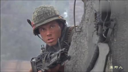 精彩越战猛片,美军进攻越南城市,完全实行火力开道!《全金属外壳》
