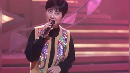 91年翡翠歌星庆贺电台庆典,陈松伶青涩演唱歌曲《天涯歌女》