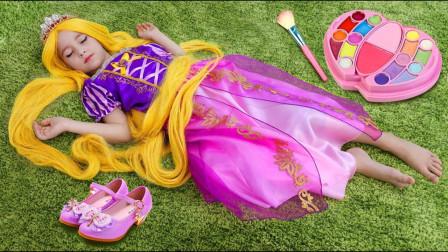 太神奇了,萌宝小萝莉睡一觉咋就变成了小公主?到底发生了啥?
