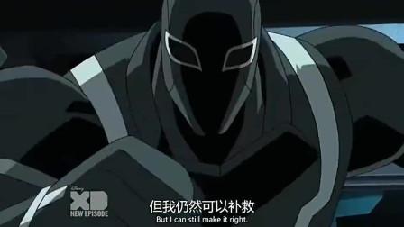 终极蜘蛛侠,巨大的生化怪物将三个蜘蛛侠吸收,然后又吸收毒液
