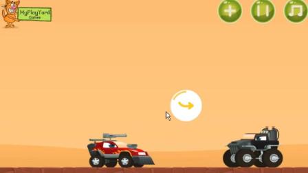 小汽车大危机 库奇和飞机合作救出被困的小伙伴!游戏