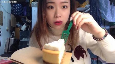 星巴克的乳酪蛋糕吼吼吃️ 最近武汉的天气好好啊