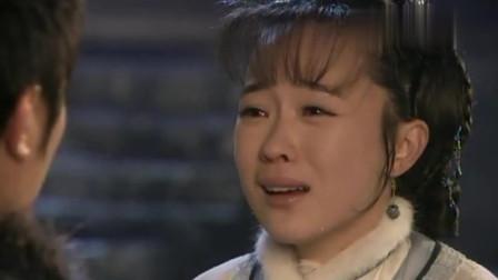 妻子想要挽回丈夫,可是丈夫不再给她机会,妻子跪在地上大哭