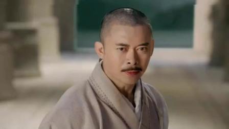 倚天屠龙记:成昆要怒杀杨逍,张无忌现身,用九阳神功吓跑恶僧!