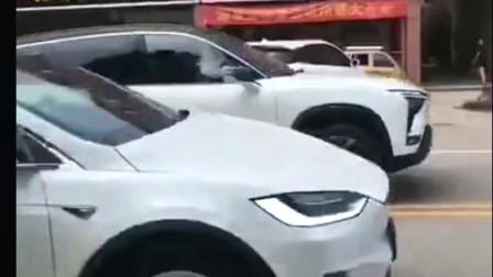 国产蔚来电动汽车PK特斯拉,以微弱优势取胜