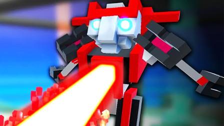 【屌德斯解说】 机器人大乱斗 全新镭射挑战 变身钢铁侠手无寸铁击败敌人