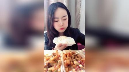 鱼香茄子 土豆鸡块
