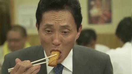 孤独的美食家:叔吃海鲜春卷,用料特别足的中华料理
