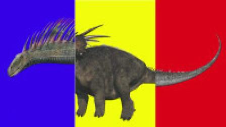恐龙拼图,用3只不同的恐龙拼成新的恐龙