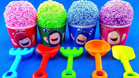 美珠粒粒冰淇淋儿童益智玩具,早教色彩认知萌宝识颜色与数字啦!