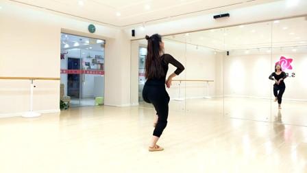 古典舞《采薇》镜面分解教学
