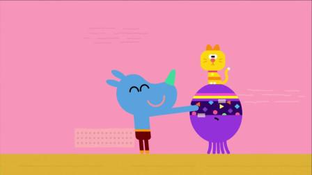 《嗨道奇第一季》猫咪在贝蒂的头上,哈哈