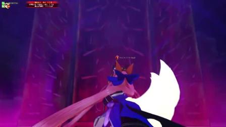 FGO Arcade 玉藻前carry全场 自己却在获胜前2秒被击杀