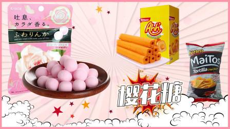 零食王国 日本玫瑰糖果 印度尼西亚奶酪玉米棒 烧烤味玉米片